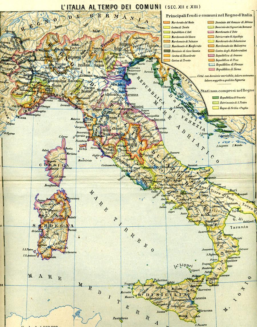 Cartina Italia Anno 500.Crociate La Cartina Della Prima Seconda E Terza Crociata Anni 1096 1191