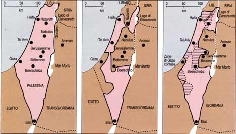 Israele Palestina Cartina.Palestina Storia Cronologia