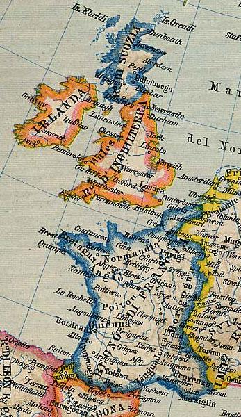 Cartina Inghilterra E Scozia.Inghilterra E Francia Nel Xv Secolo Storia Delle Civilta